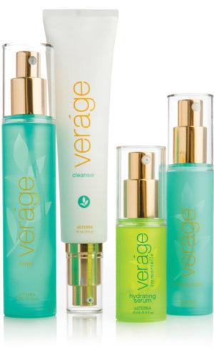 Veráge Hautpflege-Sammlung